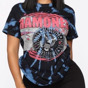 Ramones tie dye too